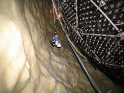 Jeskyně experimentu SNO (zdroj SNO)