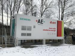 Velkokapacitní úložiště SIESTORAGE od firmy Siemens umístěné v Mýdlovarech (zdroj Siemens).