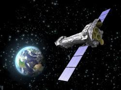 Rentgenová observatoř XXM-Newton. Kredit: ESA/ C. Carreau.