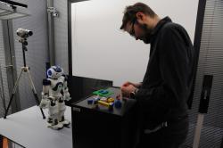 Jak polidštit roboty? Kredit: Center for Human-Computer Interaction.