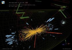 LHC stále chrlí spousty dat. Kredit: Taylor L; McCauley T/CERN.