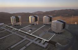 Very Large Telescope (VLT). Kredit: ESO.