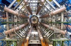 Ikonický detektor ATLAS. Kredit: CERN.
