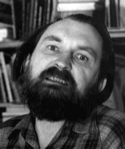 Egon Bondy, vlastním jménemZbyněk Fišer, básník, prozaik a filosof, inspirátor undergroundu. (Kredit: Martin Machovec)