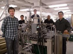 Laboratoř objevitelů Weylových fermionů. Kredit: Danielle Alio, Office of Communications / Princeton University.