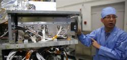 Generátor kvantové provázanosti na družici QSS. Zdroj: spaceflight101.com