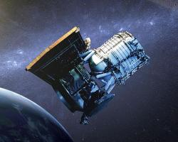 Infrateleskop WISE. Kredit: NASA / JPL-Caltech.