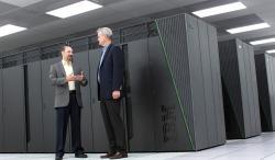 Superpočítač Vulcan. Kredit: LLNL.