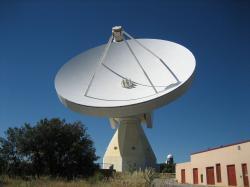 Yebes Observatory RT40m. Kredit: Yebes / Wikimedia Commons.