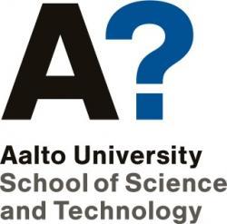 Logo Aalto university.