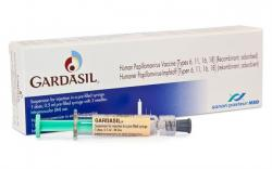 Vakcína proti HPV. Kredit: Sanofi Pasteur.
