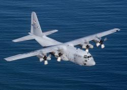 Dnes již legendární transportní letoun Lockhhed C-130 Hercules. Kredit: Tech. Sgt. Howard Blair / US Air Force