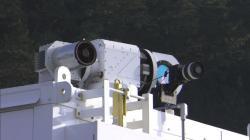 Laserový systém ADAM. Kredit: Lockheed-Martin.