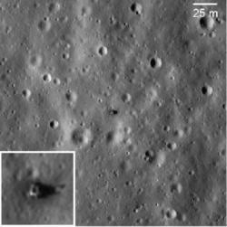 Místo přistání Luny 20 (zdroj M. S. Robinson et al.).