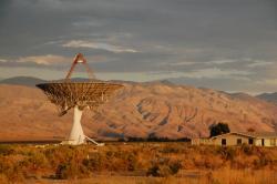 Owens Valley Radio Observatory. Kredit: Caltech.