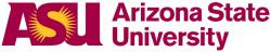 Arizona State University, logo.