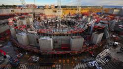 ITER nabírá stále větší zpoždění. Kredit: ITER Collaborative.