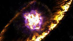 Před pár miliony let jsme tu měli úžasné vesmírné ohňostroje. Kredit: Greg Stewart / SLAC National Accelerator Lab.
