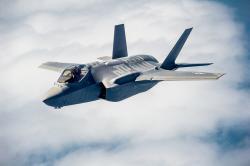 Lockheed Martin F-35 Lightning II. Kredit: US Air Force.