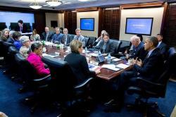 Jednání Bílého domu o viru zika. Kredit: White House.