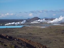 Reykjanes, magická krajina geotermální energie. Kredit: Jóhann Heiðar Árnason / Wikipedia.