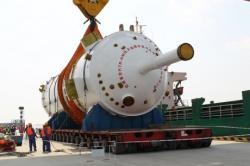 Reaktorová nádoba pro vysokoteplotní reaktor HTR-PM (zdroj China Huaeng).