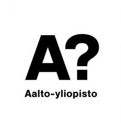 Netradiční logo Aalto University.