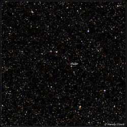 Neobvyklý snímek planetky na hvězdném pozadí pořízený teleskopem australské observatoře Siding Spring 9. července.  Kredit:NASA/SSO/Wendy Clark