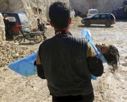 """Přes všechna ohýbání faktů v masmédiích se některé aspekty """"vraždění miminek"""" v syrském Chán Šajchúnu nedají"""