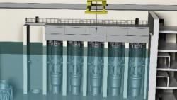 Elektrárna s několika NuScale moduly (zdroj NuScale Power)