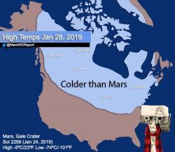 Větší zima, než na Marsu. Kredit: MarsVXReport.