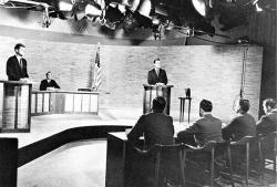Politické debaty od roku 1960 výrazně pokročily. Kredit: UPI / Wikimedia Commons.
