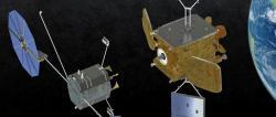 MEV-1 se blíží k cílové družici. Zdroj: https://www.alternative-learning.org