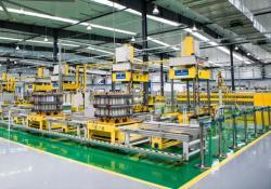 Výroba průtočné baterií ve firmě Rongke Power (zdroj Rongke Power).