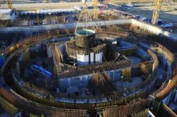 Výstavba druhé fáze Kurské jaderné elektrárny (zdroj Rosenergoatom).