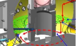 Nový robot by se potrubím dostal do kontejnmentu a jeho útroby by měl postupně prozkoumat (zdroj TEPCO).