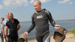 Putin archeolog.