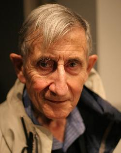 Freeman Dyson (2005). Kredit: Jacob Appelbaum / Wikipedia Commons.