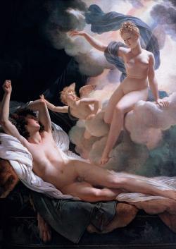 Iris ve spole�nosti Morfea. Kredit:  Guerin Pierre Narcisse (1811), Ermit�, voln� d�lo.