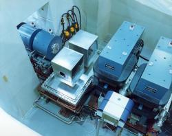 Rychlostní filtr zařízení SHIP v GSI Darmstadt, který provádí selekci správného složeného jádra (zdroj GSI )