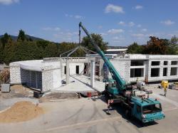 Budování nového centra pro výzkum geotermální energie v Litoměřicích (zdroj RINGEN).