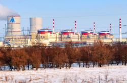 Čtyři bloky elektrárny Rostov (zdroj Rosatom).