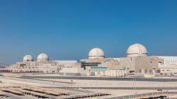 Jihokorejské bloky APR1400 v elektrárně Barakah v Spojených arabských emirátech (zdroj ENEC).
