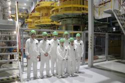 Na Smolenské jaderné elektrárně se školí budoucí odborníci pro jadernou elektrárnu Ostrovec (zdroj Smolenská jaderná elektrárna).