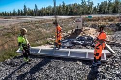 Pokračují práce na přípravě staveniště elektrárny Hanhikivi 1 s blokem VVER1200 (zdroj Fennovoima).