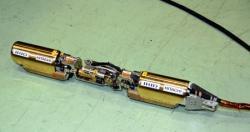 Nov� robot p�ipravovan� pro pr�ci v kontejnmentech Fuku�imy I (zdroj IRID).
