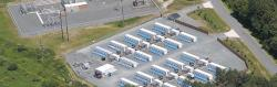 Stephentownské setrvačníkové úložiště vybudované firmou Beacon Power (zdroj Beacon Power).