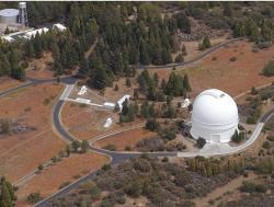 Observatoř Palomar. Kredit: Gerard T. van Belle / Wikimedia Commons.