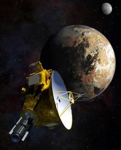 Baterie z radioaktivních nanodiamantů určitě nenahradí radionuklidové generátory u sond zkoumajících vzdálené oblasti Sluneční soustavy (zdroj NASA).