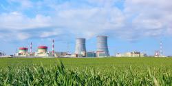 Běloruská jaderná elektrárna Ostrovec (zdroj Rosatom).